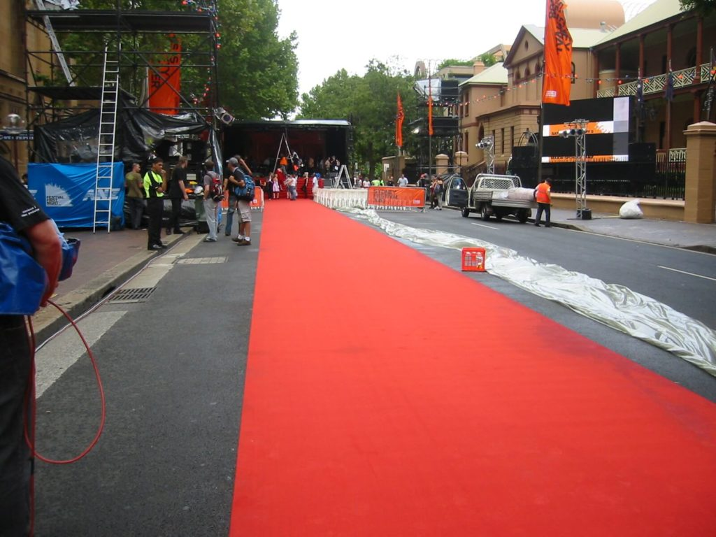 red carpet Sydney