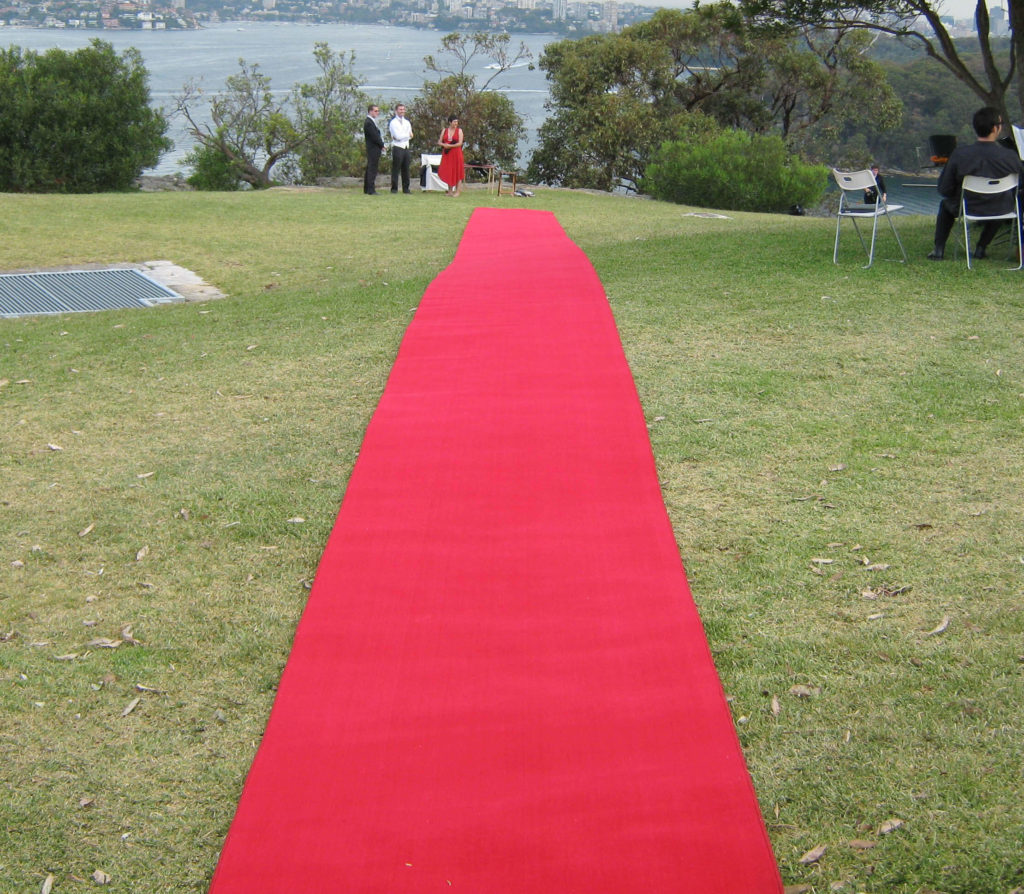 red carpet hire sydney