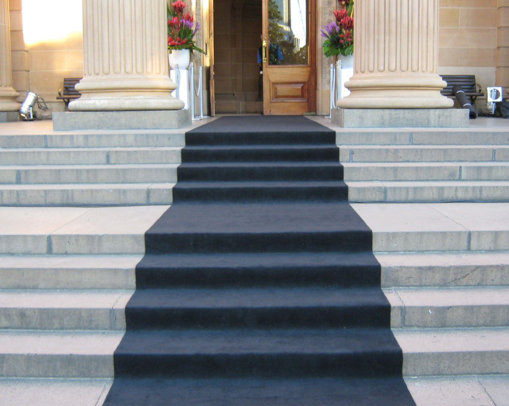 Event carpet hire Melbourne