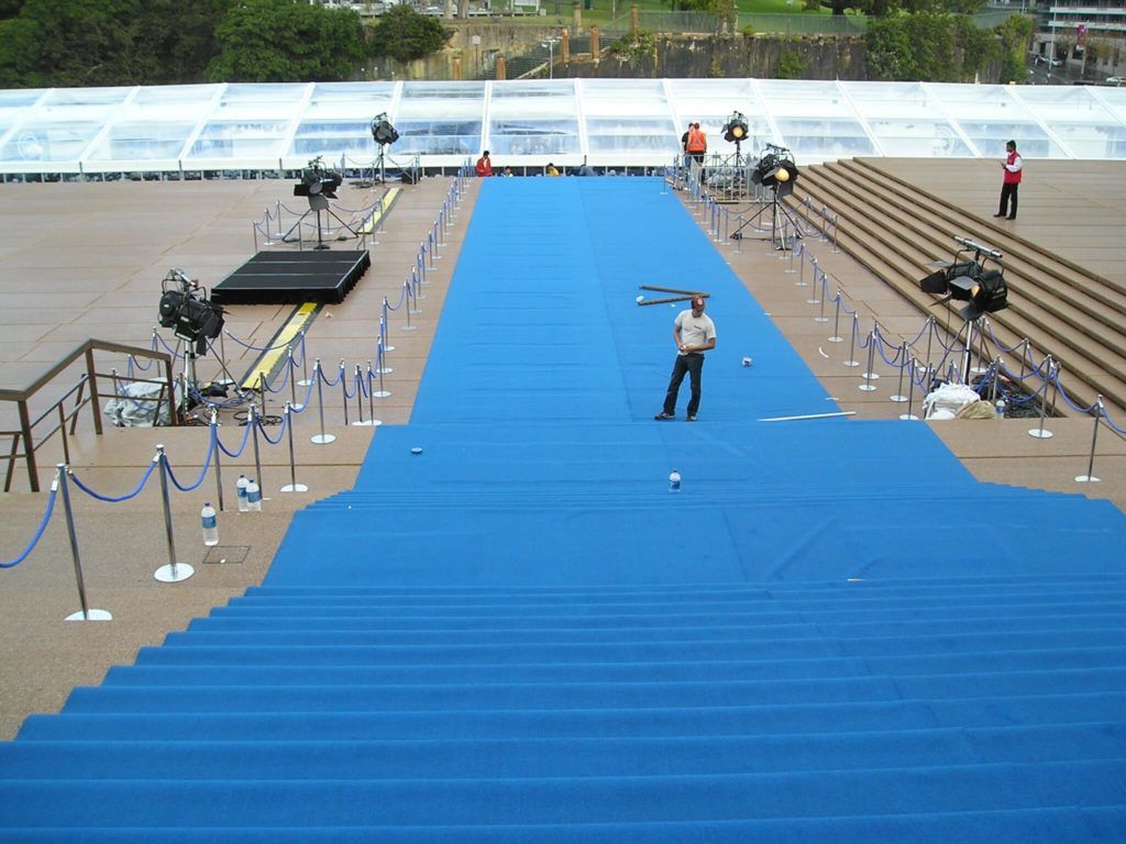 Event carpet hire Sydney